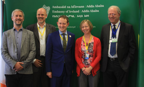 Irish delegation to the Third International Financing Conference in Addis ababa