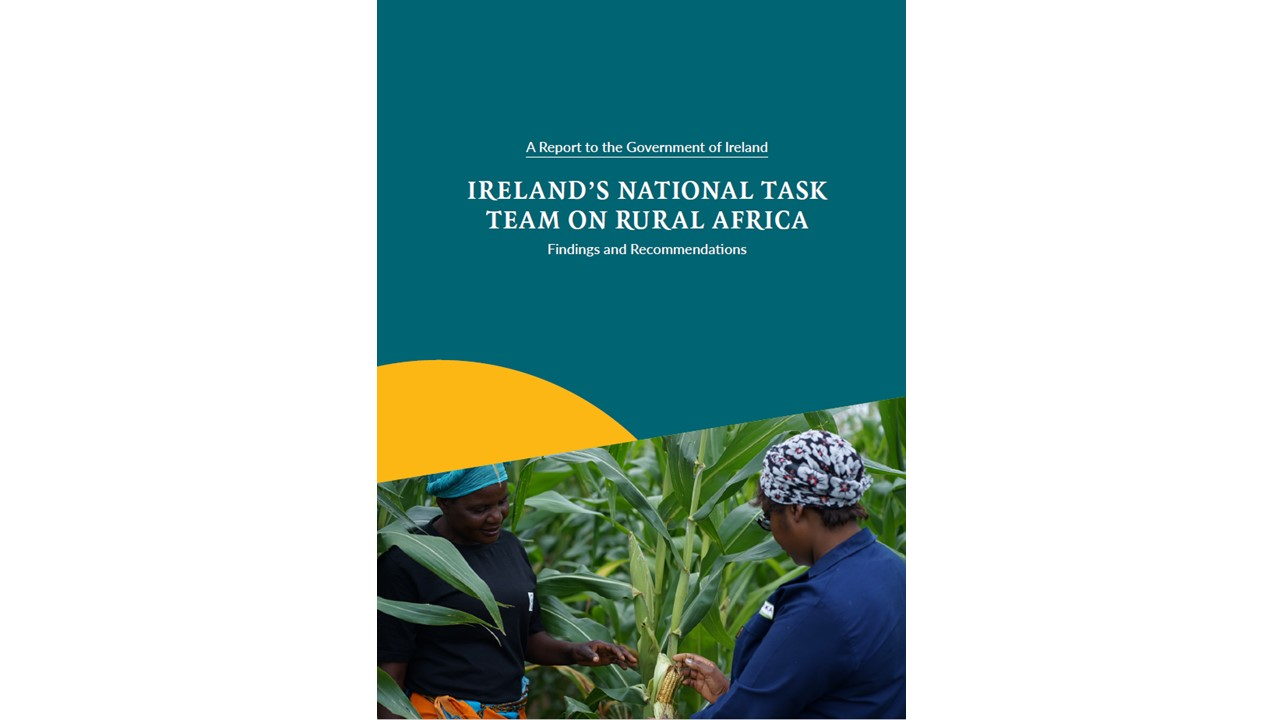 Ireland's National Task Team on Rural Africa Report 2019 - Cover Page